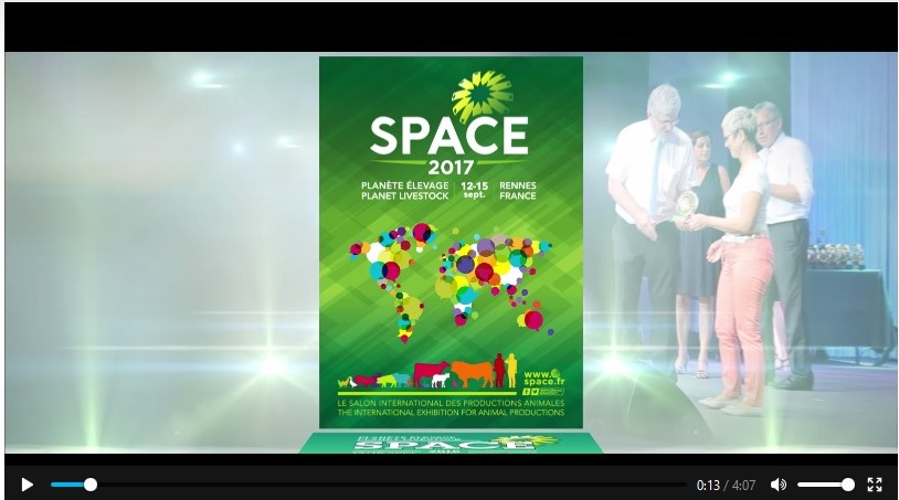 Cliquez sur l'image pour accéder au site du SPACE 2017